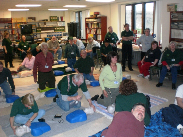 Picture of CERT CPR TRAINING