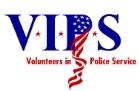 Graphic Volunteers in Police Service Logo. Go to the Suffolk County Volunteers in Police Service web page