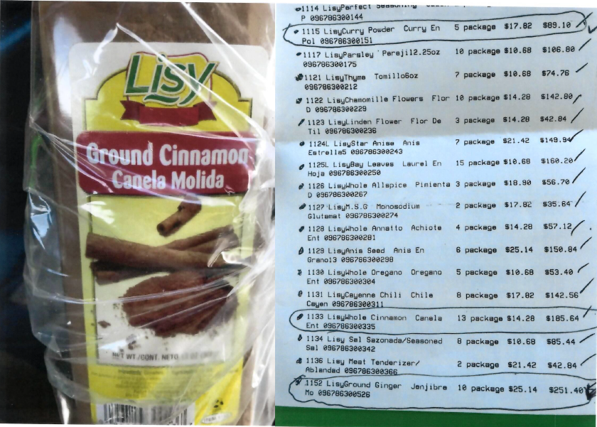 Picture of Lisy Ground Cinnamon