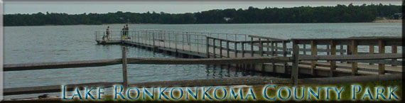 Picure of a dock at Lake Ronkonkoma County Park